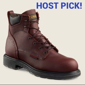 """Men's 6"""" Red Wing Shoes waterproof soft toe boot"""